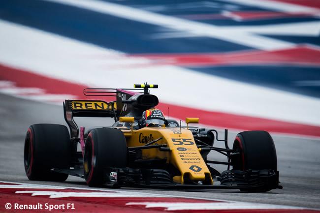 Carlos Sainz - Renault - Entrenamientos Libres - GP Estados Unidos 2017