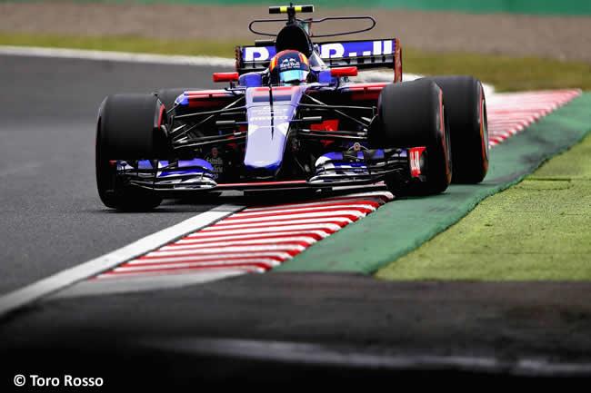 Carlos Sainz - Toro Rosso - Calificación GP Japón 2017