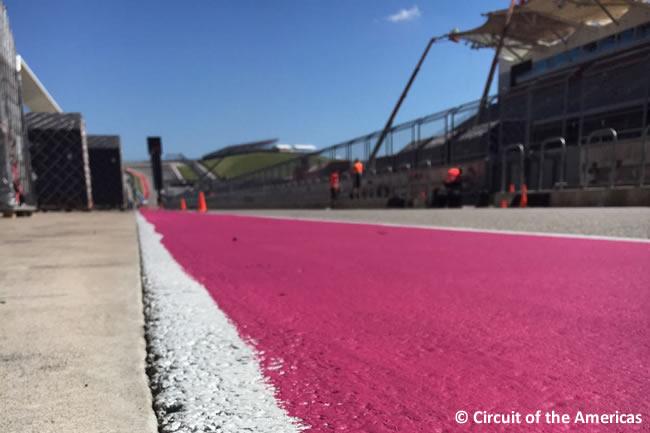 Circuit Of The Americas - COTA - Pista rosa - Fundación Susan G Komen