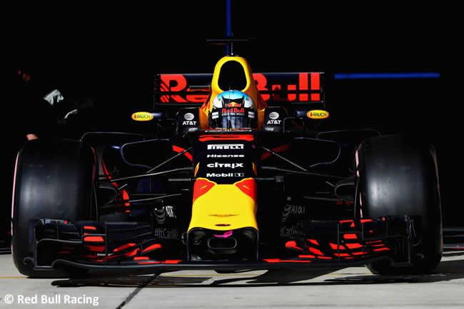 Daniel Ricciardo - Red Bull - Calificación- GP Estados Unidos 2017