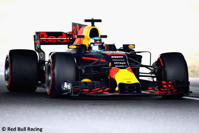 Daniel Ricciardo - Red Bull - Entrenamientos GP Japón 2017