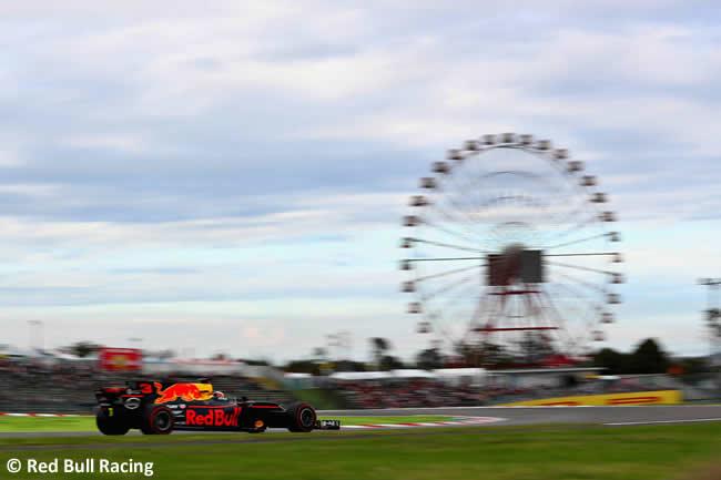 Daniel Ricciardo - Red Bull Racing - Calificación GP Japón 2017