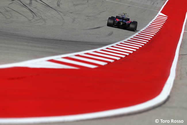 Daniil Kvyat - Toro Rosso - Calificación- GP Estados Unidos 2017