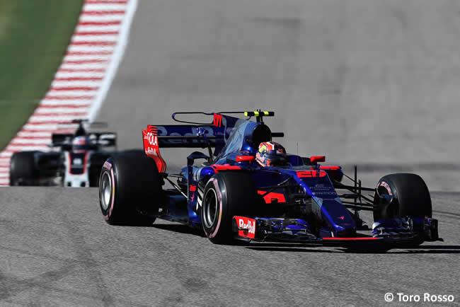 Daniil Kvyat - Toro Rosso - Carrera - GP Estados Unidos 2017