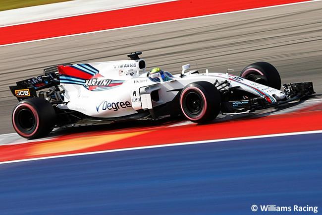 Felipe Massa - Williams - Calificación- GP Estados Unidos 2017