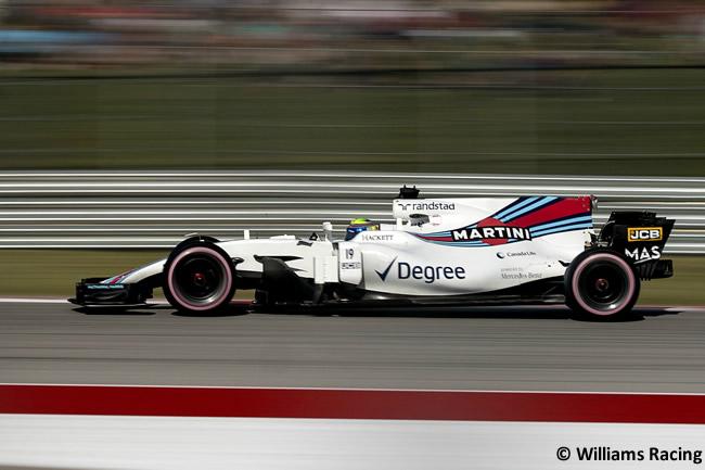 Felipe Massa - Williams - Carrera - GP Estados Unidos 2017