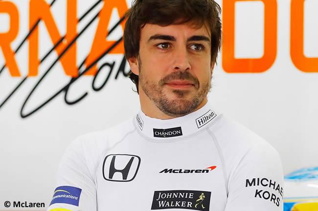 Fernando Alonso - McLaren - Anuncio 2018