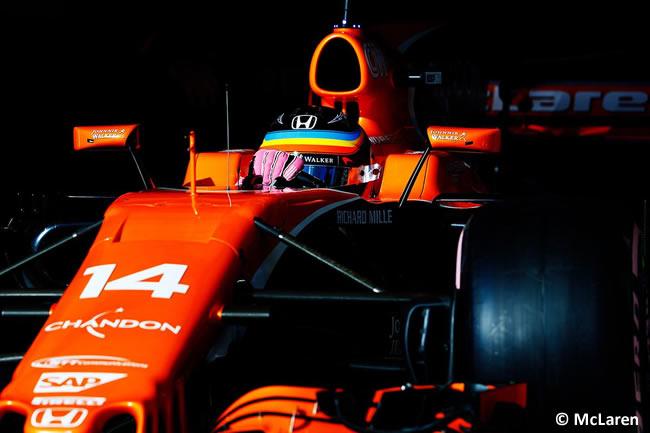 Fernando Alonso - McLaren - Calificación- GP Estados Unidos 2017