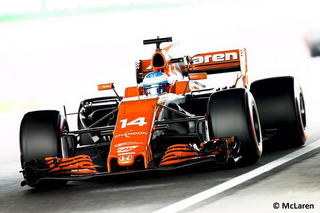 Fernando Alonso - McLaren - Calificación GP Japón 2017
