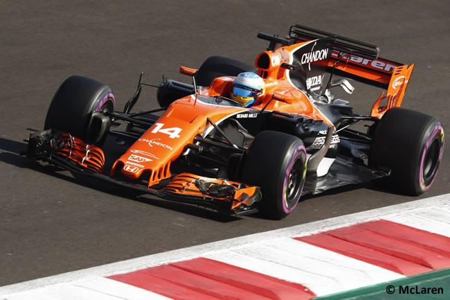Fernando Alonso - McLaren - GP México 2017