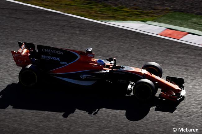 Fernando Alonso - McLaren - Carrera- GP Japón 2017