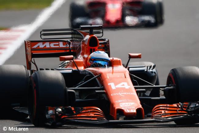 Fernando Alonso - McLaren - Carrera - GP México 2017
