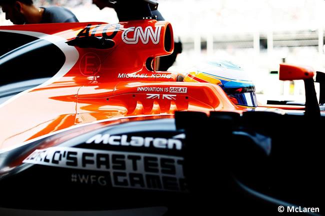 Fernando Alonso - McLaren - GP México 2017 - AHR