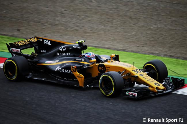 Jolyon Palmer - Renault Sport - Carrera- GP Japón 2017