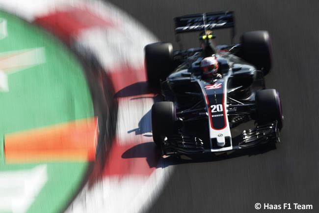 Kevin Magnussen - Haas F1 - GP México 2017