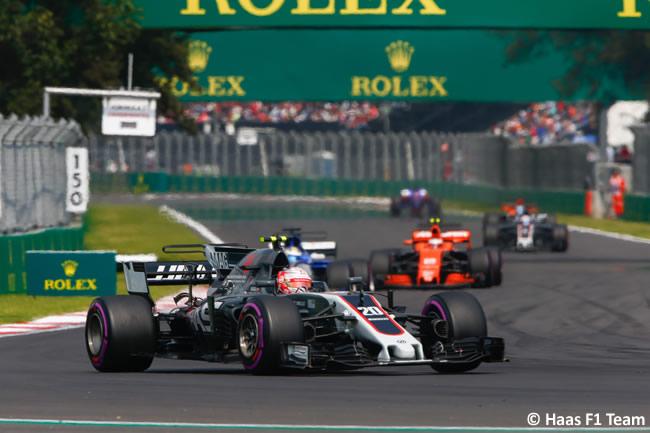 Kevin Magnussen - Haas - Carrera - GP México 2017