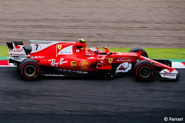 Kimi Raikkonen - Scuderia Ferrari - Carrera- GP Japón 2017
