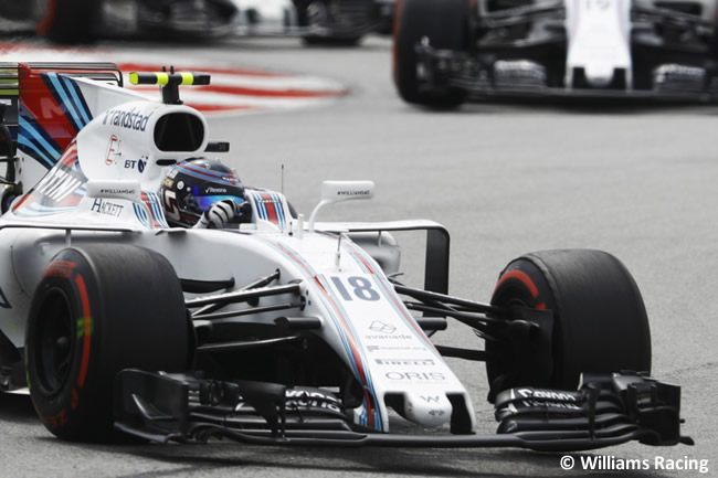 Lance Stroll - Williams - Carrera GP Malasia 2017