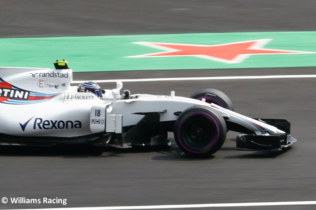 Lance Stroll - Williams - Carrera - GP México 2017