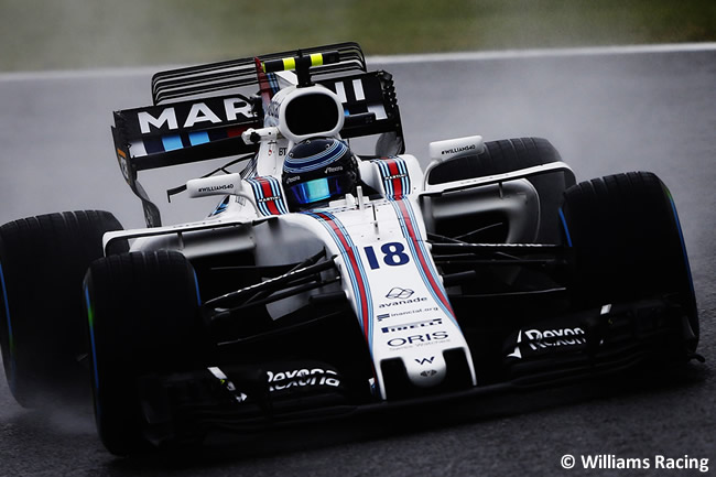 Lance Stroll - Williams - Entrenamientos GP Japón 2017