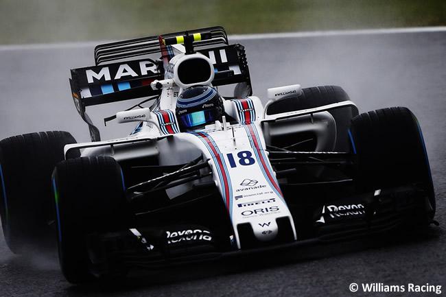 Lance Stroll - Williams - Entrenamientos GP Japón 2017