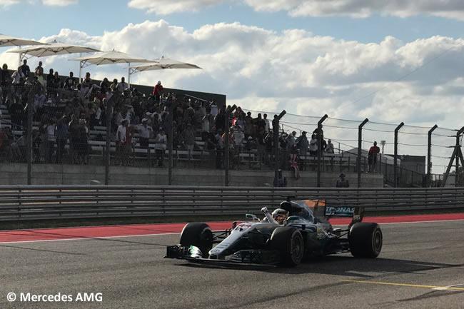 Lewis Hamilton - Mercedes AMG - Calificación- GP Estados Unidos 2017