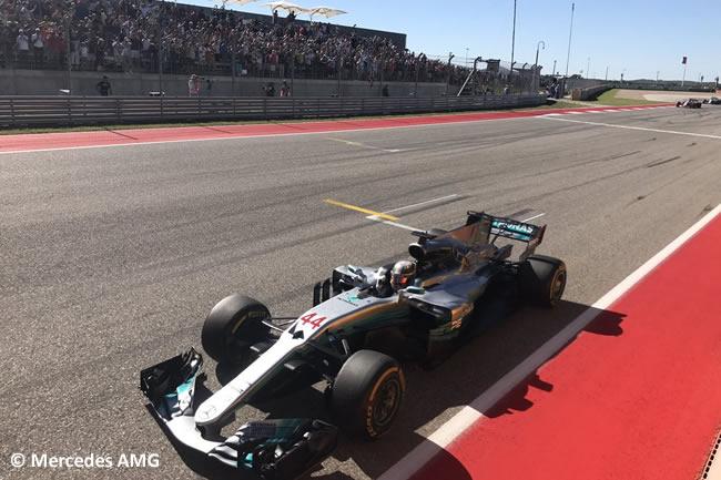 Lewis Hamilton - Mercedes - Carrera - GP Estados Unidos 2017