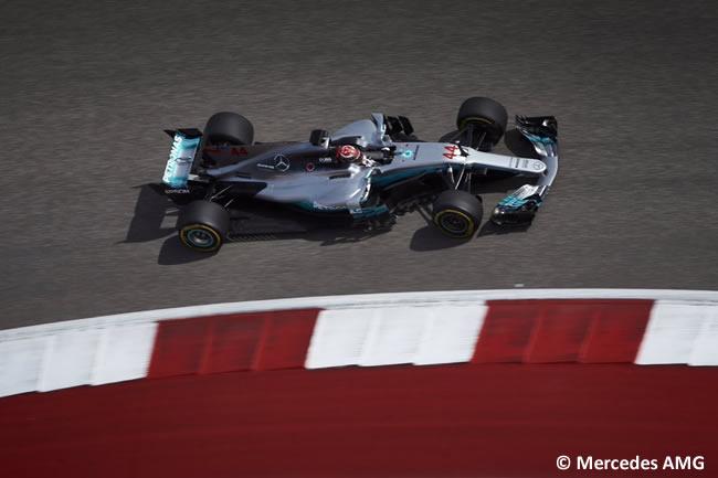 Lewis Hamilton - Mercedes - Entrenamientos Libres - GP Estados Unidos 2017