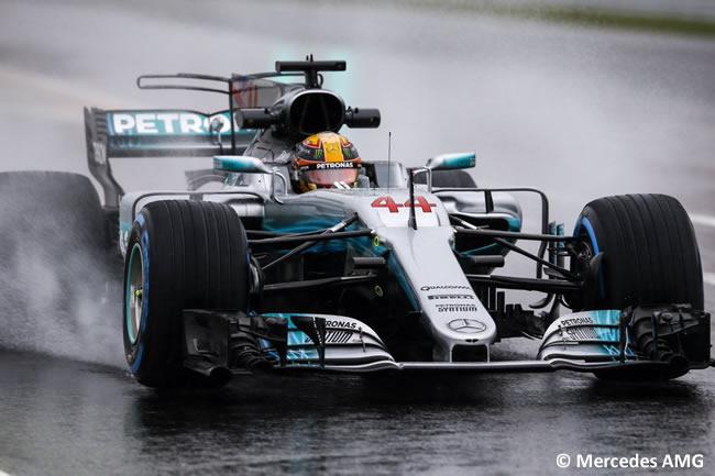 Lewis Hamilton - Mercedes AMG - Entrenamientos GP Japón 2017