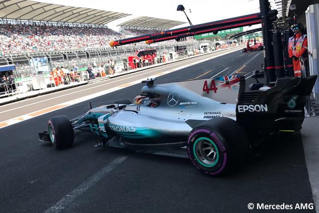 Lewis Hamilton - Mercedes - GP México 2017