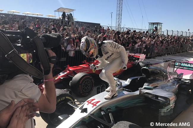 Lewis Hamilton - Mercedes AMG - Victoria - GP Estados Unidos 2017