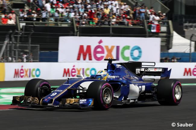 Marcus Ericsson - Sauber - GP México 2017