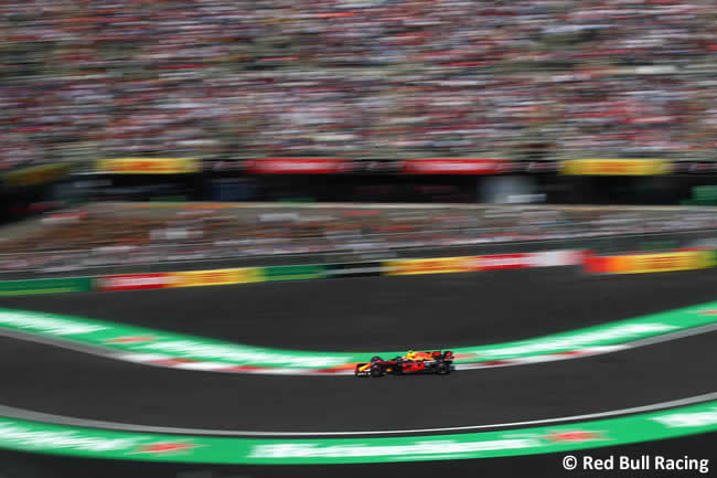 Max Verstappen - Red Bull Racing - GP México 2017