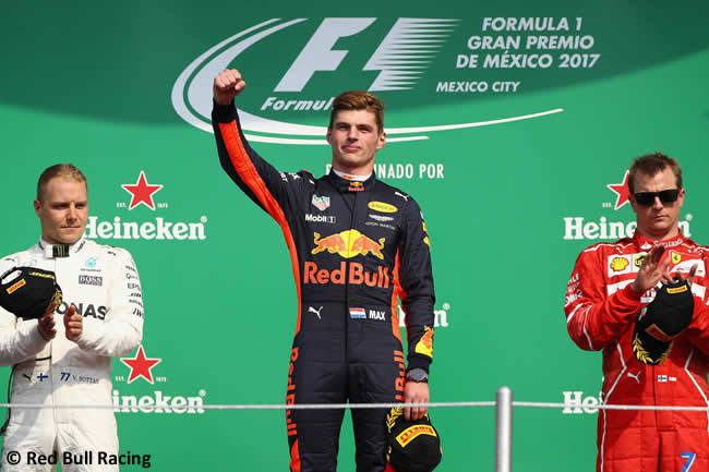Max Verstappen - Red Bull Racing - Carrera - GP México 2017