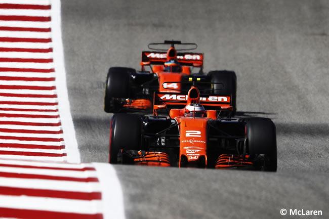 McLaren-Honda - Carrera - GP Estados Unidos 2017