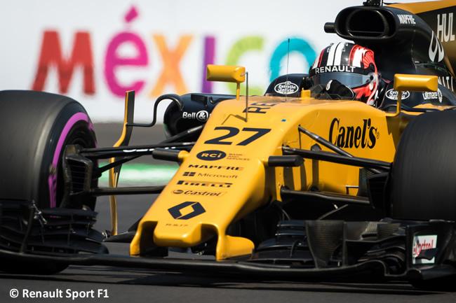 Nico Hulkenberg - Renault Sport - GP México 2017