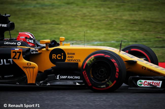 Nico Hulkenberg - Renault Sport - Entrenamientos GP Japón 2017