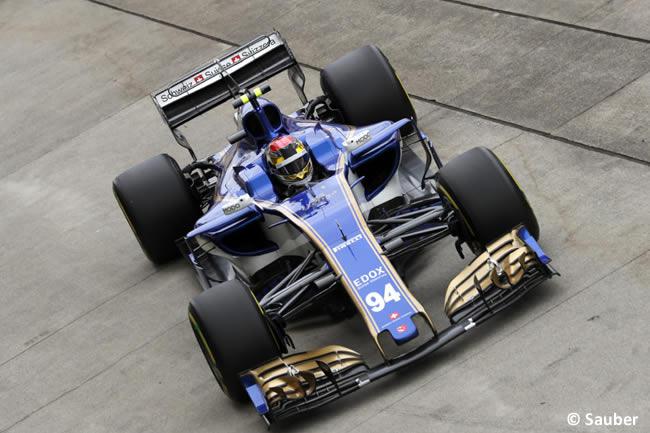 Pascal Wehrlein - Sauber - Calificación GP Japón 2017