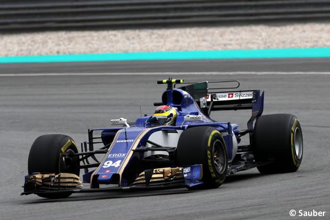 Pascal Wehrlein - Sauber - Carrera GP Malasia 2017