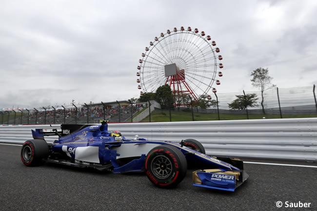 Pascal Wehrlein - Sauber - Entrenamientos GP Japón 2017
