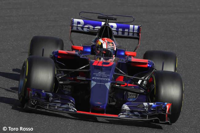 Pierre Gasly - Toro Rosso - Carrera- GP Japón 2017