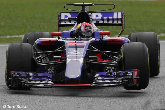 Pierre Gasly Toro Rosso - Carrera GP Malasia 2017