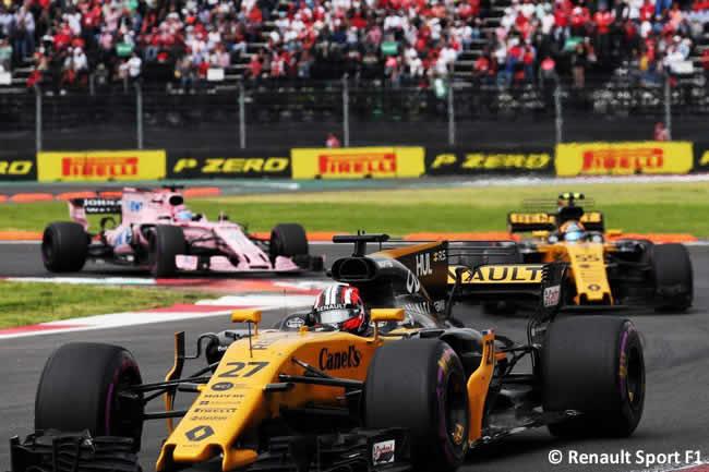 Renault - Carrera - GP México 2017