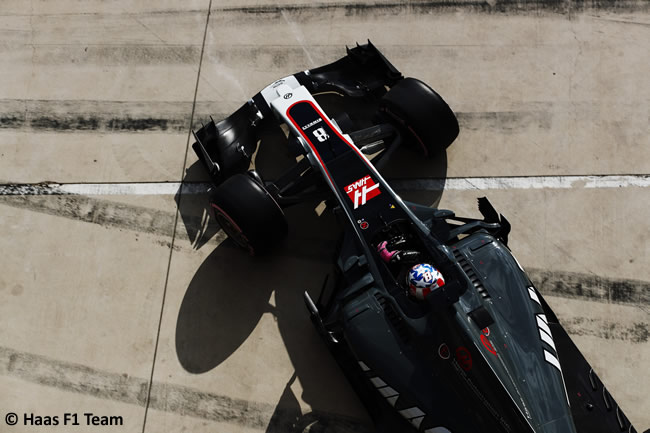 Romain Grosjean - Haas F1 - Calificación- GP Estados Unidos 2017