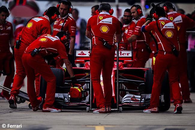 Scuderia Ferrari - Entrenamientos Libres - GP Estados Unidos 2017