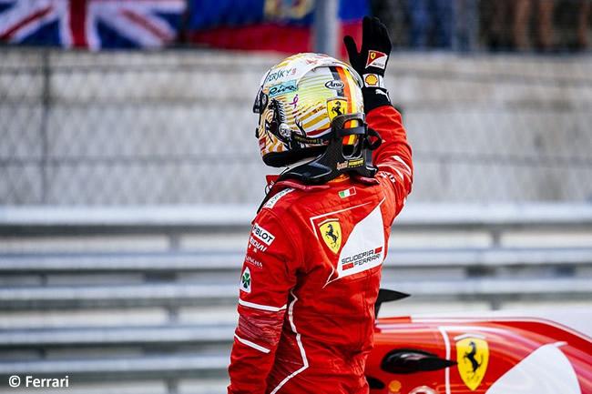 Sebastian Vettel - Scuderia Ferrari -F1 - Calificación- GP Estados Unidos 2017