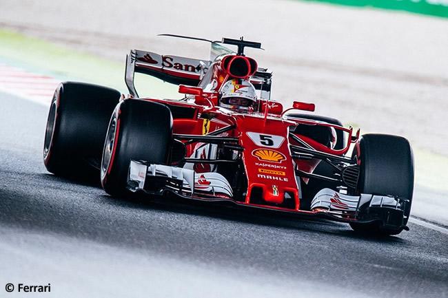 Sebastian Vettel - Scuderia Ferrari - Calificación GP Japón 2017