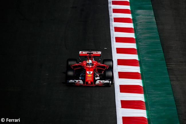 Sebastian Vettel - Scuderia Ferrari - GP México 2017