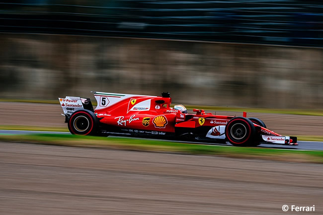 Sebastian Vettel - Scuderia Ferrari - Entrenamientos GP Japón 2017