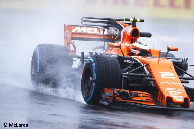 Stoffel Vandoorne - McLaren - Entrenamientos GP Japón 2017